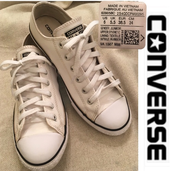 dcb7d70fdea8 Converse Shoes - Converse Chuck Taylor All Star Low Leather Sneaker